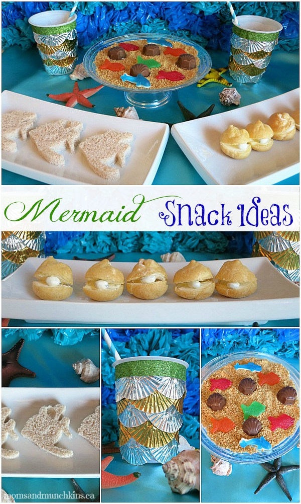 Little Mermaid Party Snack Ideas  Mermaid Party Food Ideas Moms & Munchkins