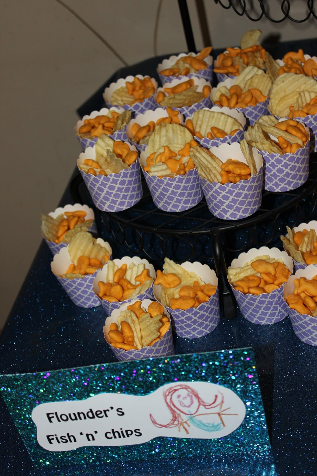 Little Mermaid Party Snack Ideas  The House Family The Little Mermaid 4th Birthday