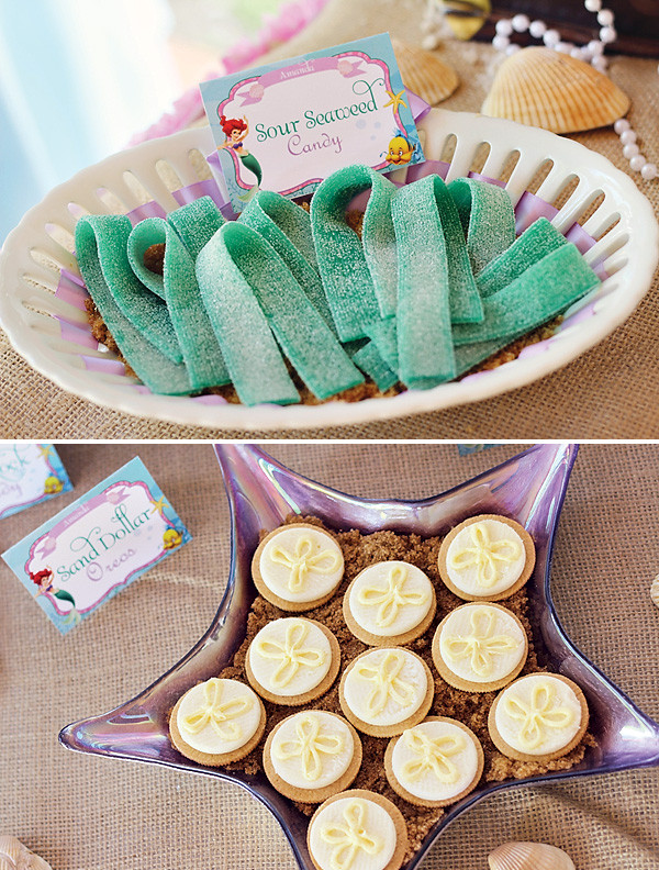 Little Mermaid Party Snack Ideas  The Little Mermaid Sure Knows How to Throw a Good Party