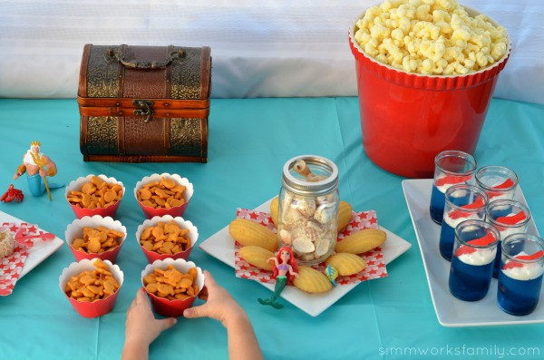 Little Mermaid Party Snack Ideas  Explore Under The Sea with The Little Mermaid Party Ideas