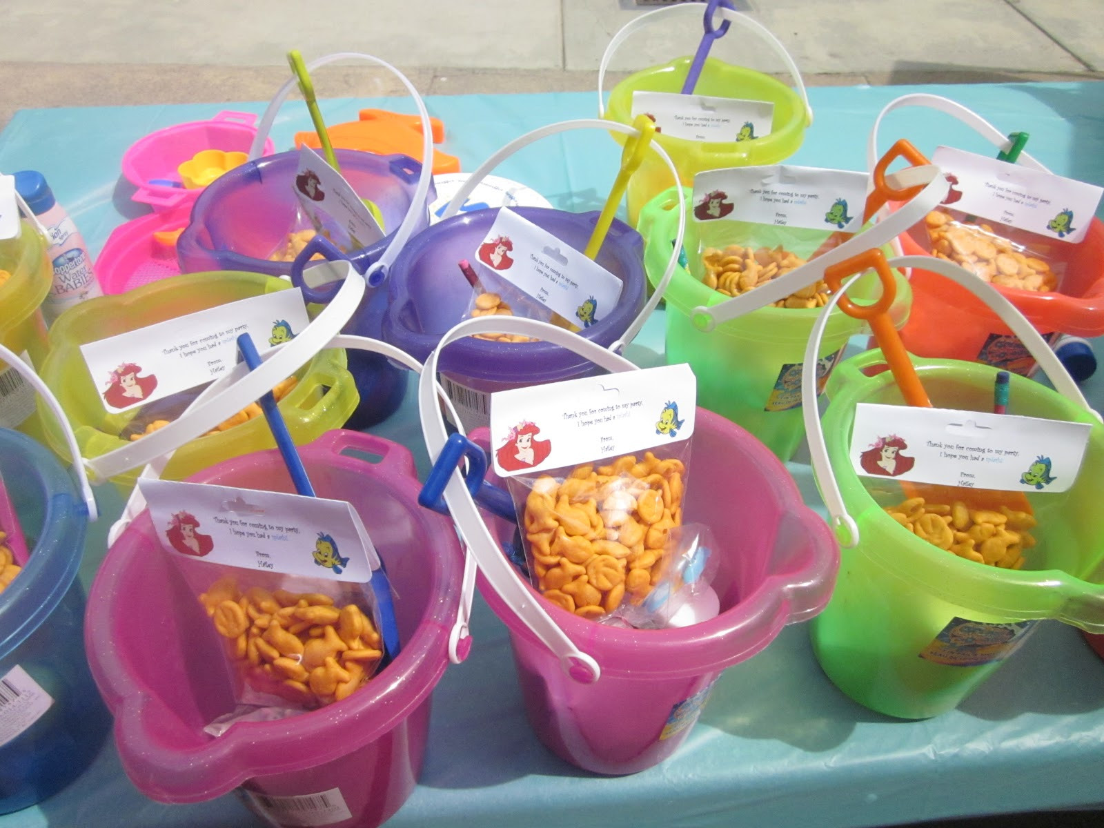 Little Mermaid Party Snack Ideas  Pintresting Challenge Little Mermaid party