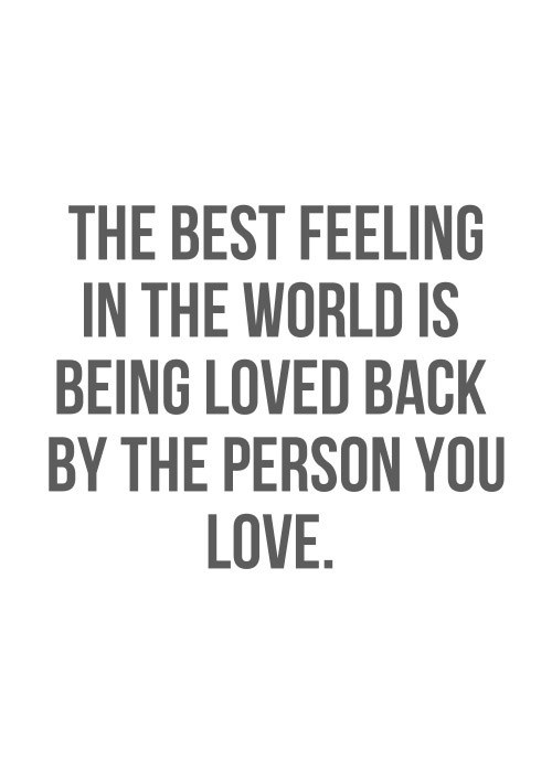Love Feeling Quotes  The Best Feeling In The World Quotes QuotesGram