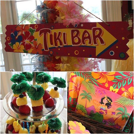 Luau Pool Party Ideas  Luau Pool Birthday Party luau party