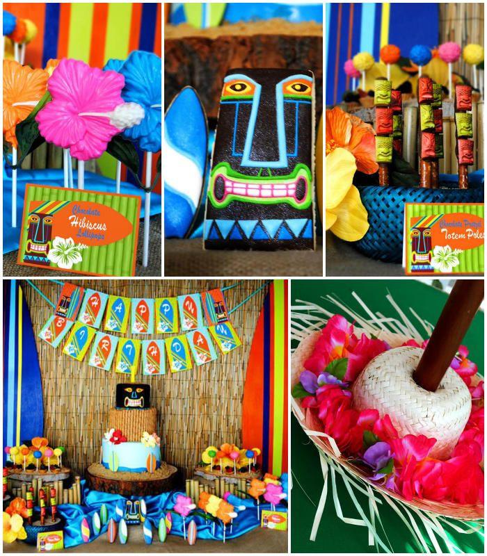 Luau Pool Party Ideas  196 best Luau & Beach Parties images on Pinterest