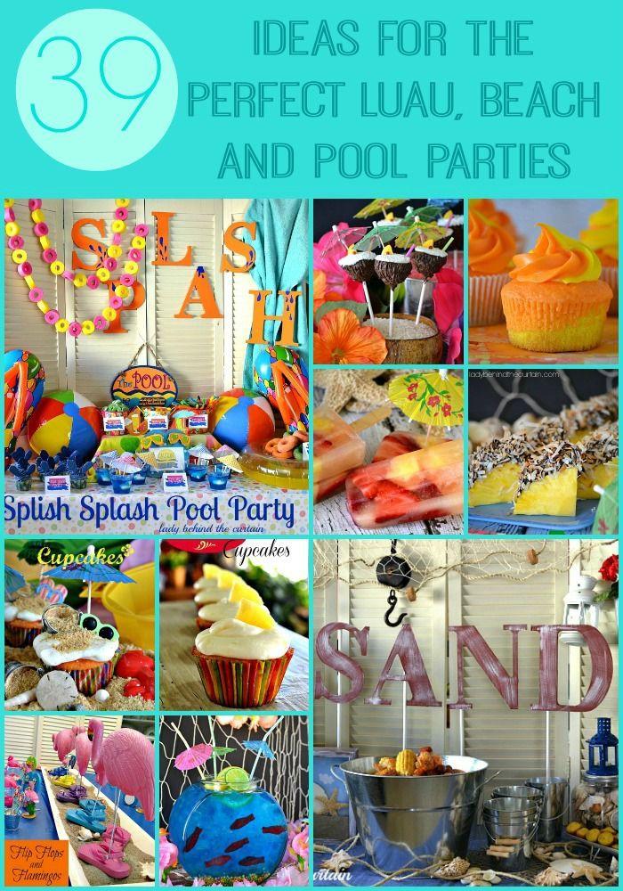 Luau Pool Party Ideas  Luau Pool Parties on Pinterest