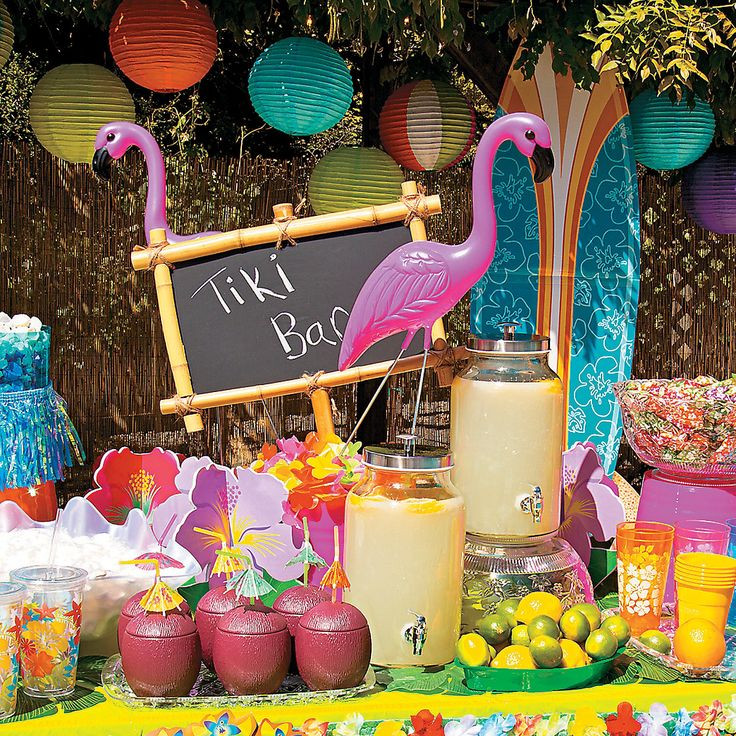 Luau Pool Party Ideas  101 best images about Luau Party Ideas on Pinterest