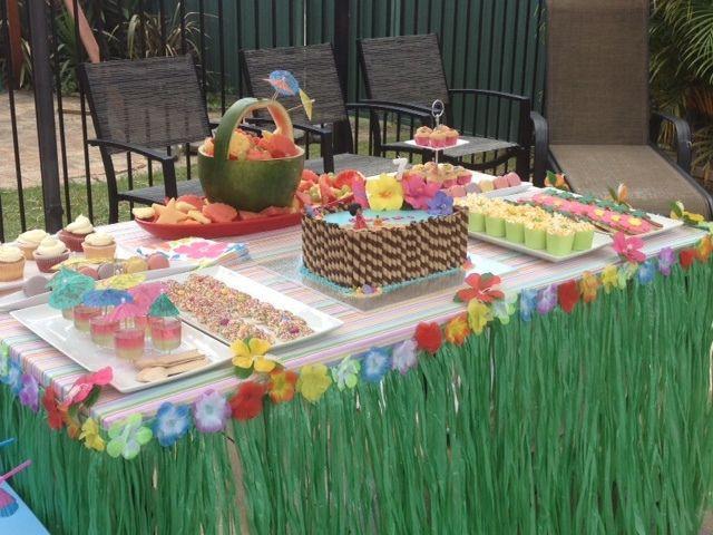 Luau Pool Party Ideas  Hawaiian Pool Party Birthday Party Ideas