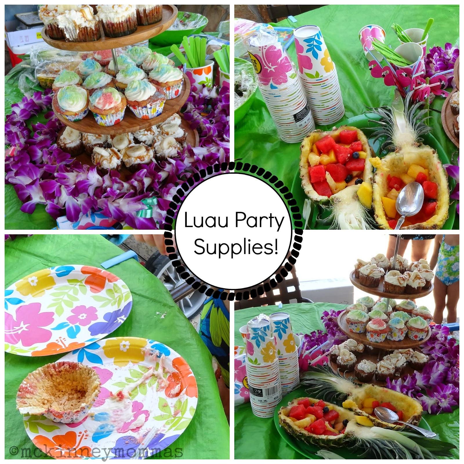 Luau Pool Party Ideas  McKinney Mommas How To Throw A Luau Pool Party Party