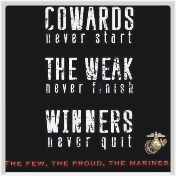 Marine Corps Inspirational Quotes  Clever Marine Corps Inspirational Quotes