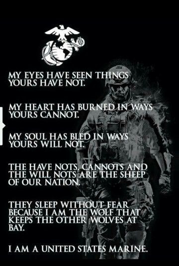 Marine Corps Inspirational Quotes  Pin by Nivla Niksneb on Motivational quotes