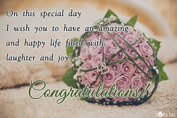Marriage Congratulations Quotes  I know how happy you are with your new car Txts