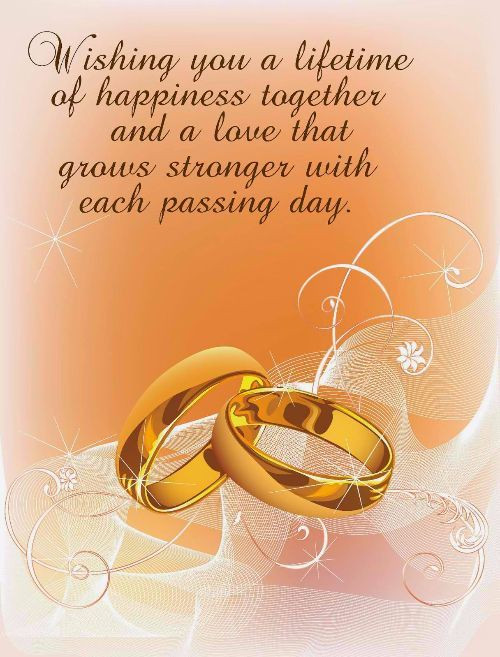 Marriage Congratulations Quotes  WISH YOU THE PROSPEROUS FUTURE & HAPPY MARRIED LIFE BE