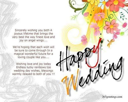 Marriage Congratulations Quotes  Wedding Wishes And Messages best wish s