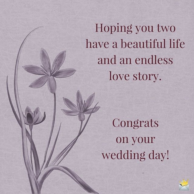 Marriage Congratulations Quotes  Best 25 Wedding congratulations quotes ideas on Pinterest