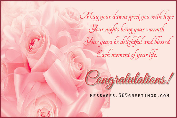 Marriage Congratulations Quotes  Wedding Wishes And Messages 365greetings