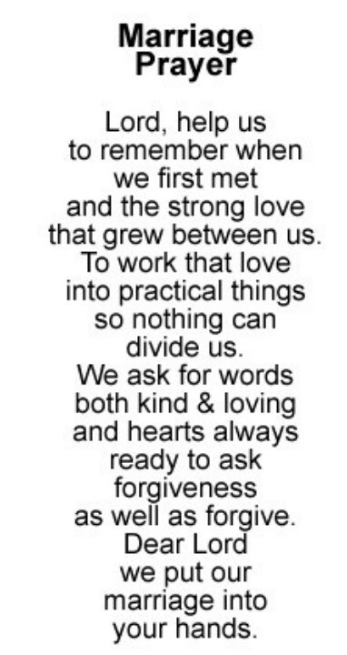 Marriage Prayer Quotes  Black And White Wedding Poems And Quotes QuotesGram