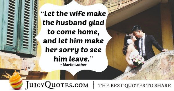 Martin Luther Marriage Quote  Marriage Quotes and Sayings Perfect for him and her