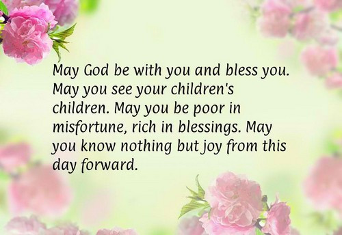 May God Bless Your Marriage Quotes  The 105 Wedding Wishes Quotes