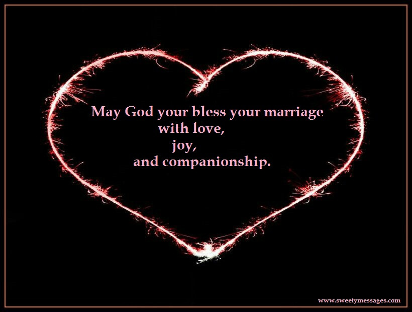 May God Bless Your Marriage Quotes  RELIGIOUS WEDDING ANNIVERSARY MESSAGES Beautiful Messages
