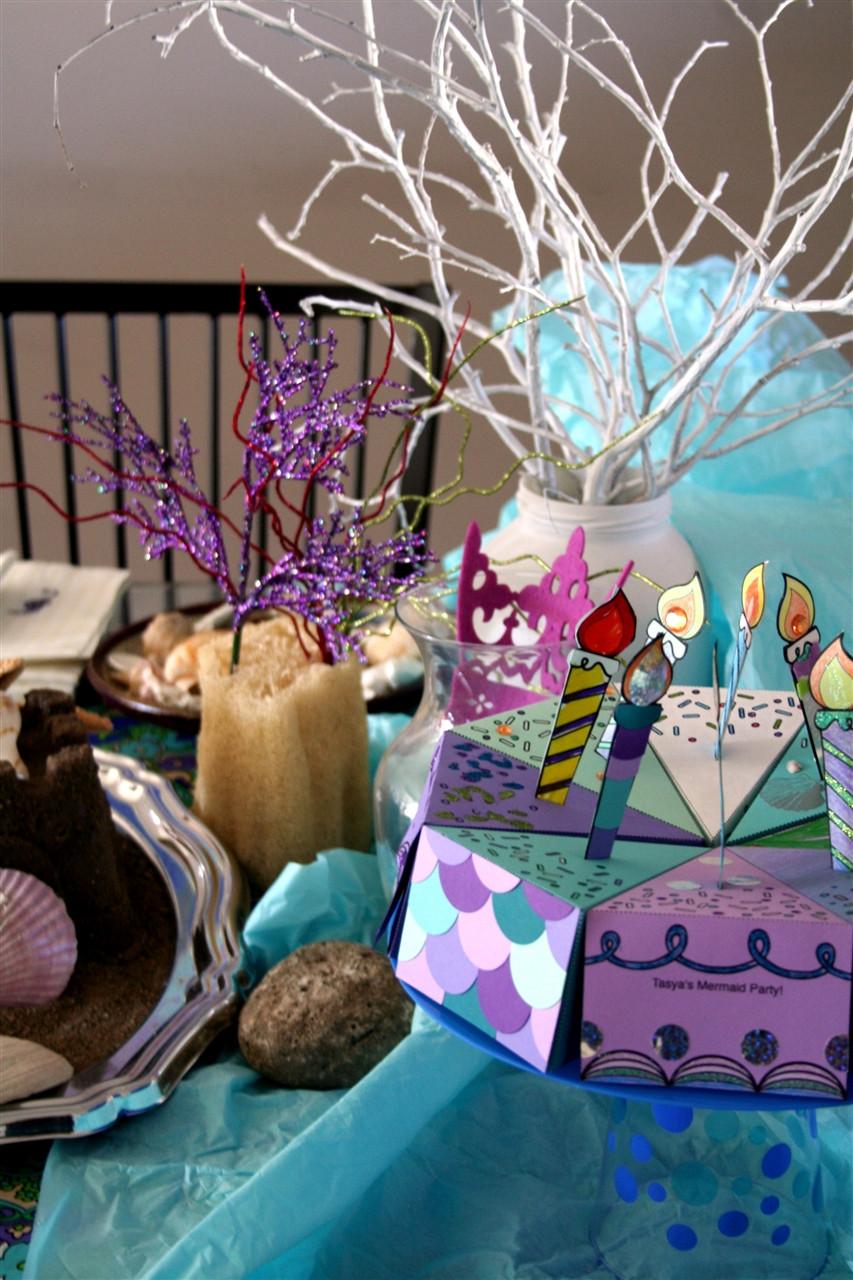 Mermaid Birthday Party Decoration Ideas  fiesta de sirenas bajo el mar