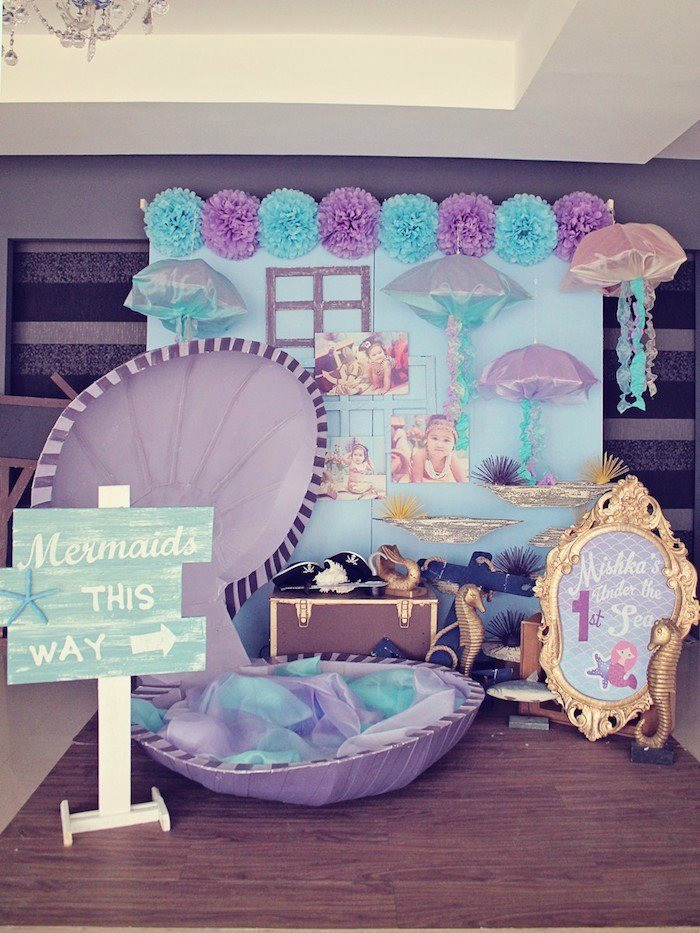 Mermaid Birthday Party Decoration Ideas  21 Marvelous Mermaid Party Ideas for Kids