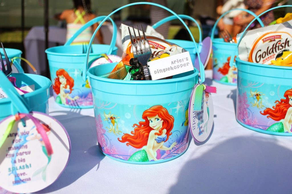 Mermaid Birthday Party Favor Ideas  14 Awesome Little Mermaid Birthday Party ideas