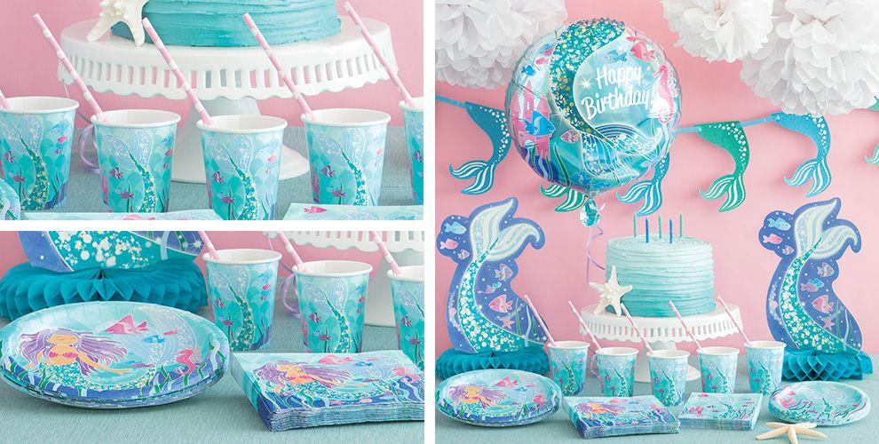 Mermaid Birthday Party Favor Ideas  Mermaid Party Supplies Mermaid Party