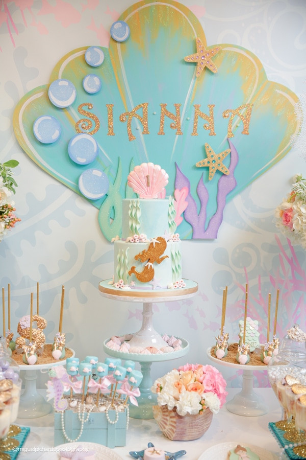 Mermaid Party Decor Ideas  29 Magical Mermaid Party Ideas Pretty My Party Party Ideas