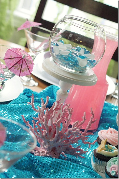Mermaid Party Decor Ideas  Mermaid Party Ideas Design Dazzle