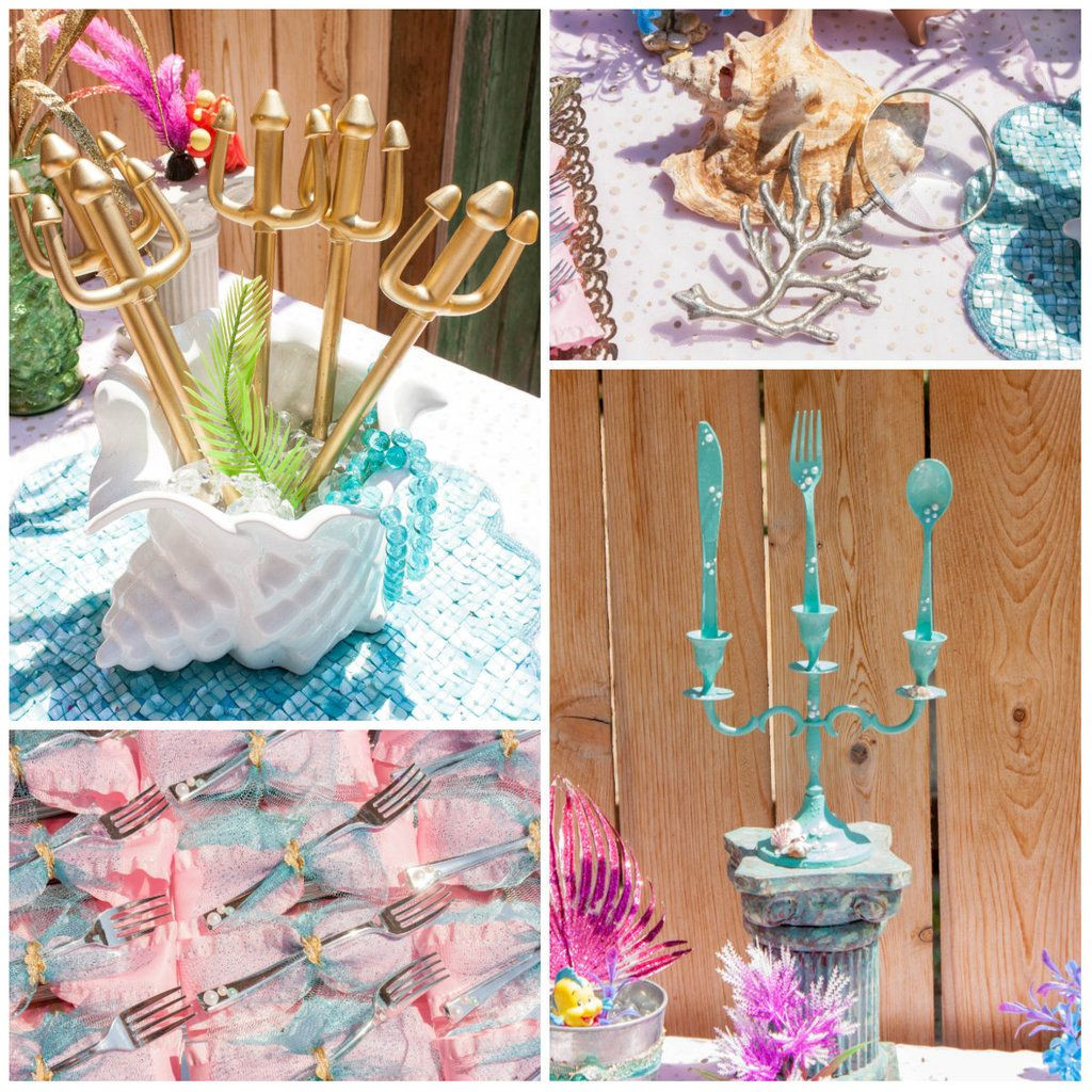 Mermaid Party Decor Ideas  Mermaid party ideas that are simply fin tastic