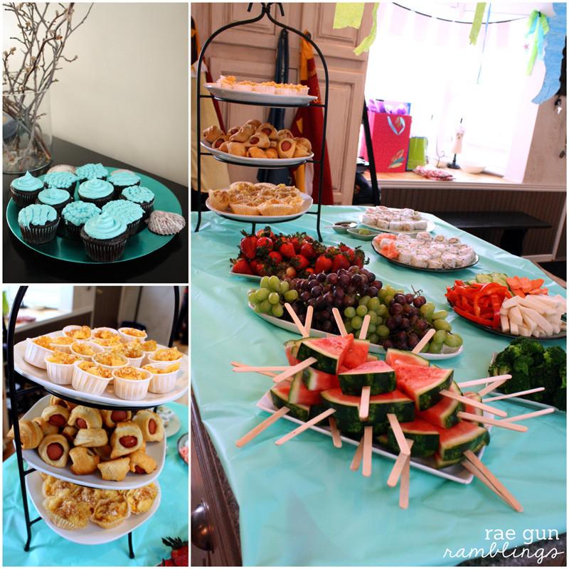 Mermaid Party Ideas Food  Mermaid Party and Oyster Cookie Tutorial Rae Gun Ramblings