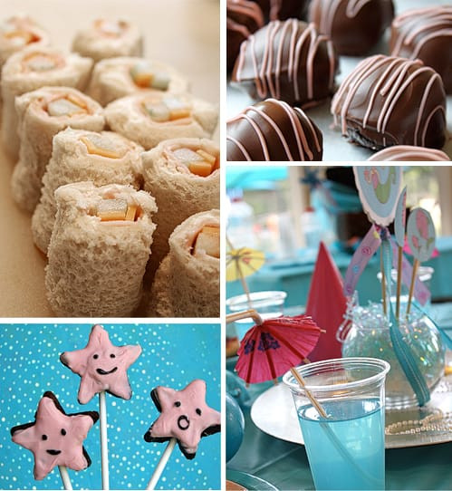 Mermaid Party Ideas Food  Birthday Party Sushi Sandwiches