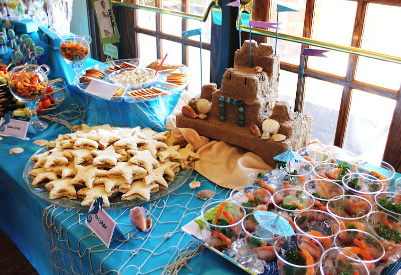 Mermaid Party Ideas Food  Writing Our Story An Under the Sea Mermaid Party