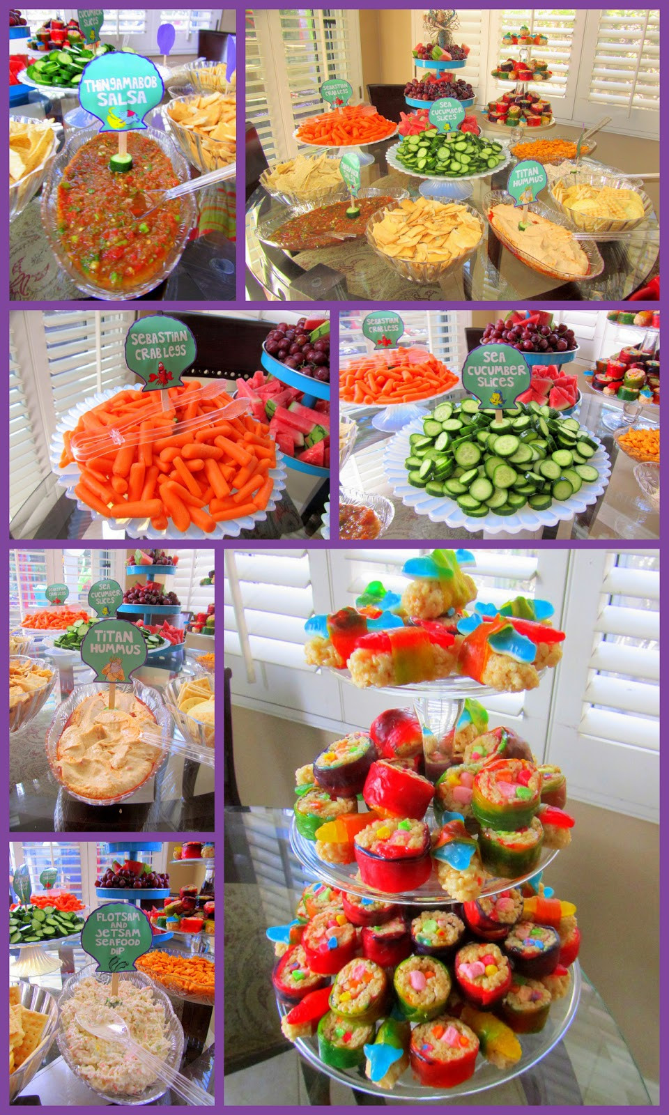 Mermaid Party Ideas Food  My Very PINTERESTing Project Under the Sea Mermaid Party