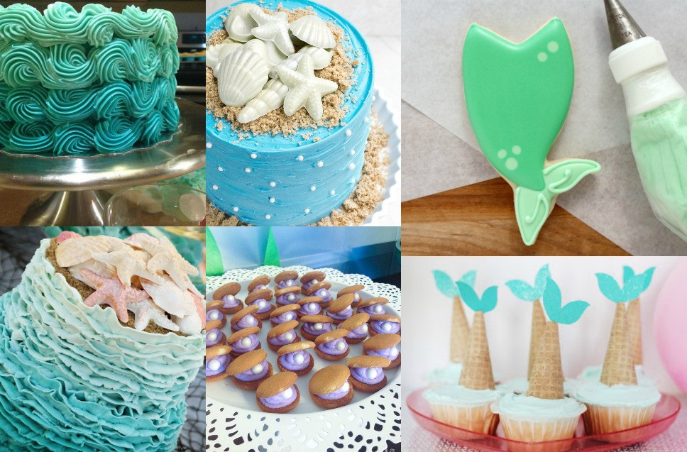 Mermaid Party Ideas Food  First Birthday Mermaid Party Inspiration Brie Brie Blooms