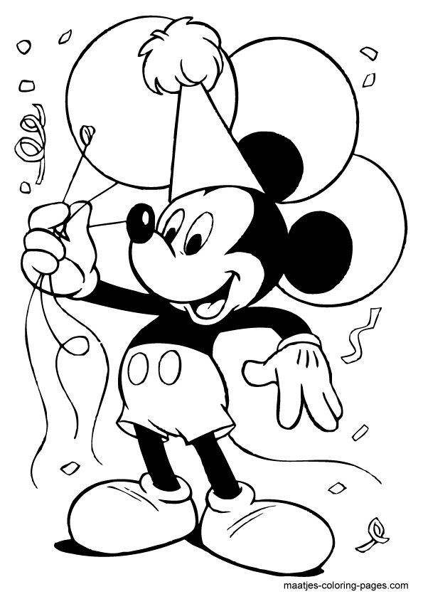 Mickey Mouse Coloring Pages Toddler  Mickey Mouse Coloring Sheet