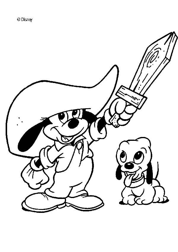 Mickey Mouse Coloring Pages Toddler  Toddler mickey mouse coloring pages Hellokids