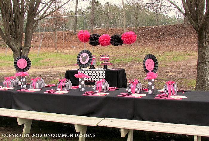 Minnie Mouse Backyard Party Ideas  Bud Party Planning Ideas For Kids Un mon Designs
