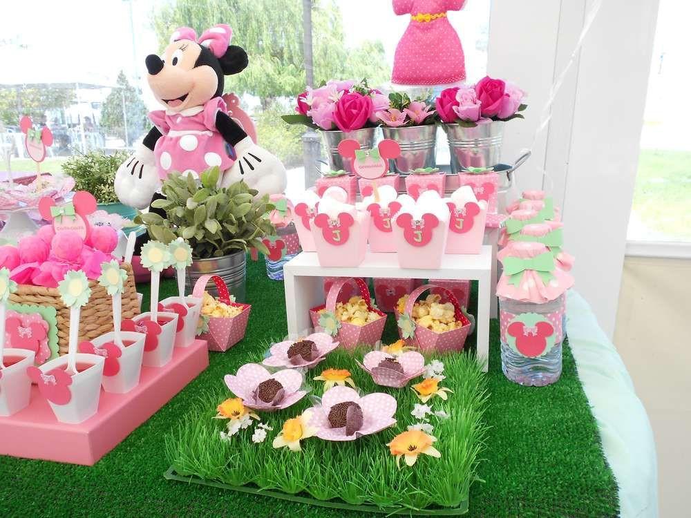 Minnie Mouse Backyard Party Ideas  Garden Birthday Party Ideas