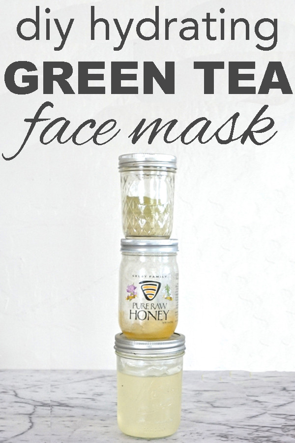 Moisturizing Face Mask DIY  DIY Hydrating Green Tea Face Mask Going Zero Waste