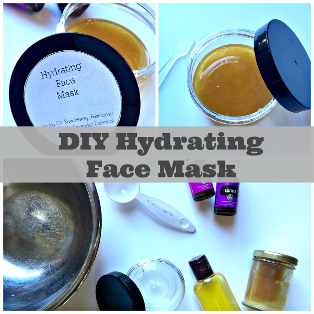 Moisturizing Face Mask DIY  DIY Hydrating Face Mask Using Essential Oils Family