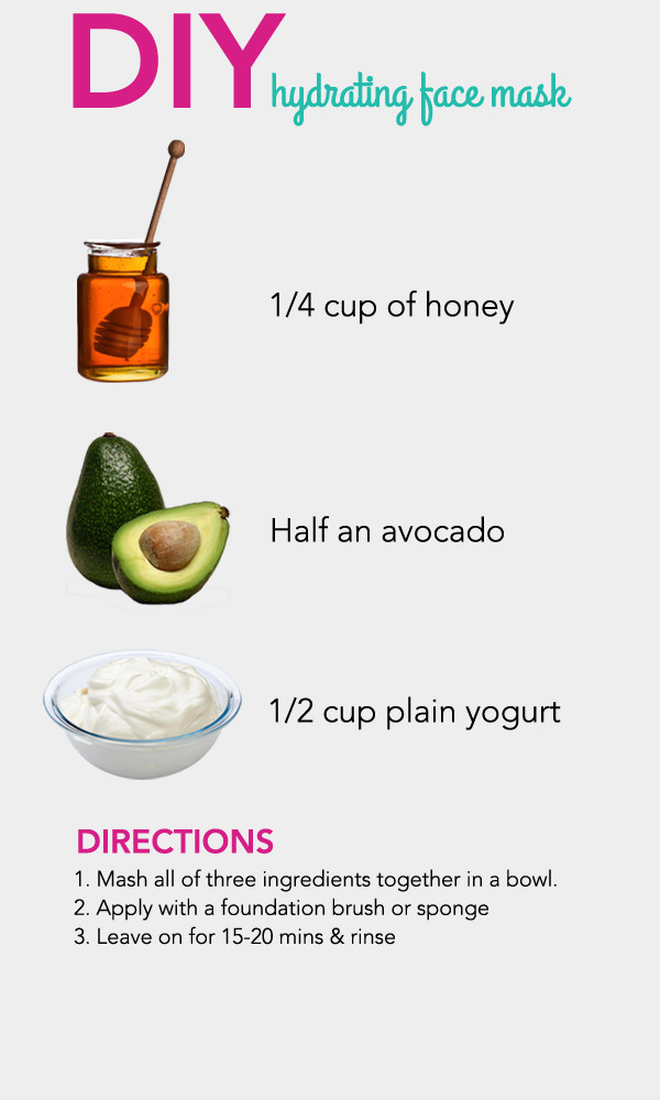 Moisturizing Face Mask DIY  DIY Hydrating Face Mask s and for