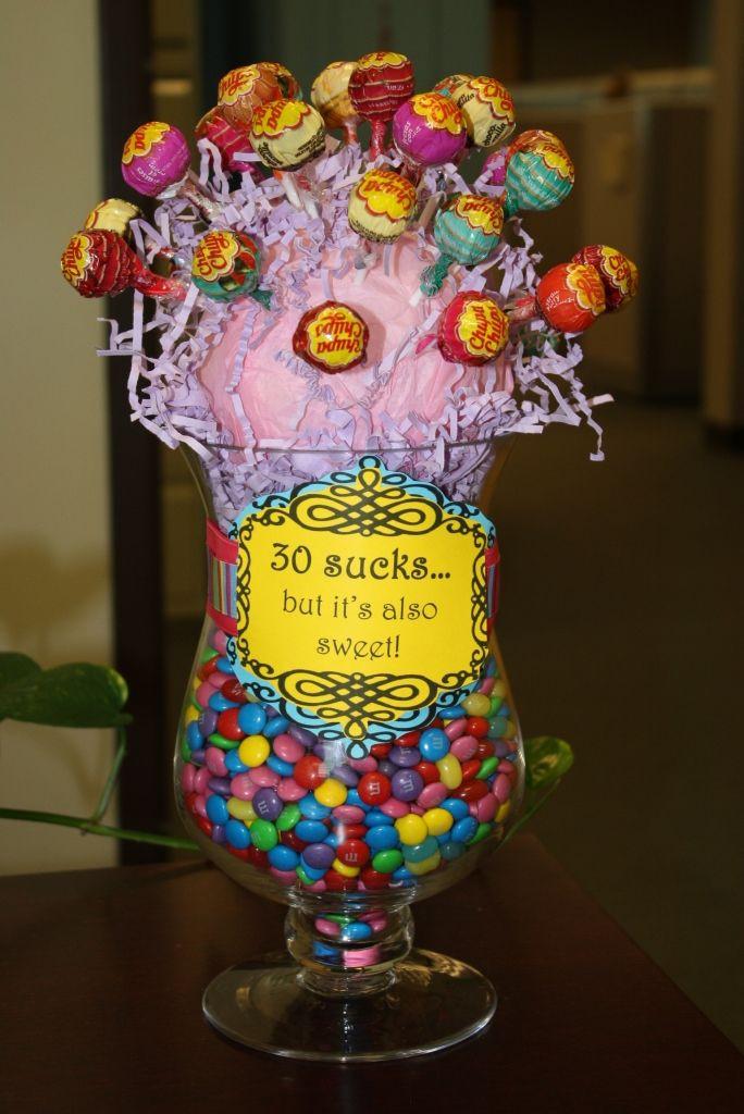 Mom'S Birthday Gift Ideas  My friend Amy and I came up with a cute center piece for a