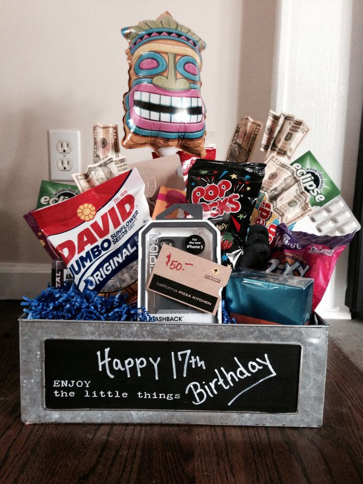 Mom'S Birthday Gift Ideas  17th Birthday Gift lots of local t cards