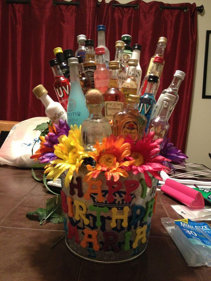 Mom'S Birthday Gift Ideas  Maria s 23rd birthday shot t basket