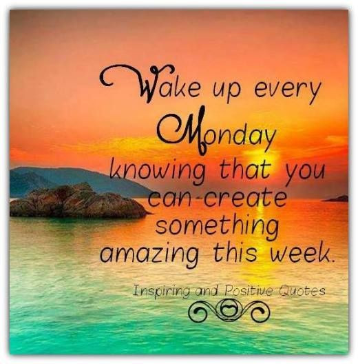 Monday Quotes Positive  Motivational Monday s and for