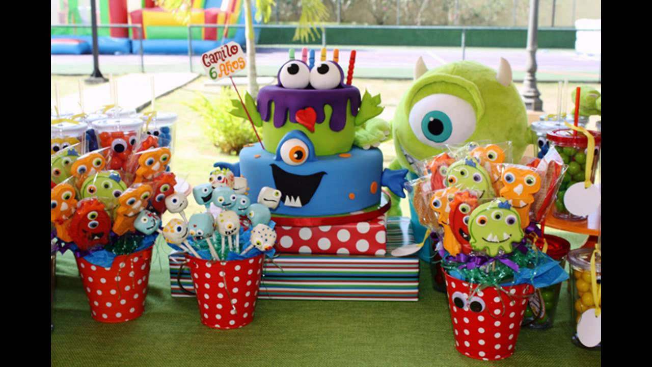 Monster Birthday Decorations  Cool Monster birthday party themes