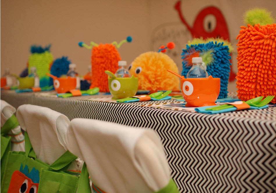 Monster Birthday Decorations  Little Monster Birthday Party Guest Feature