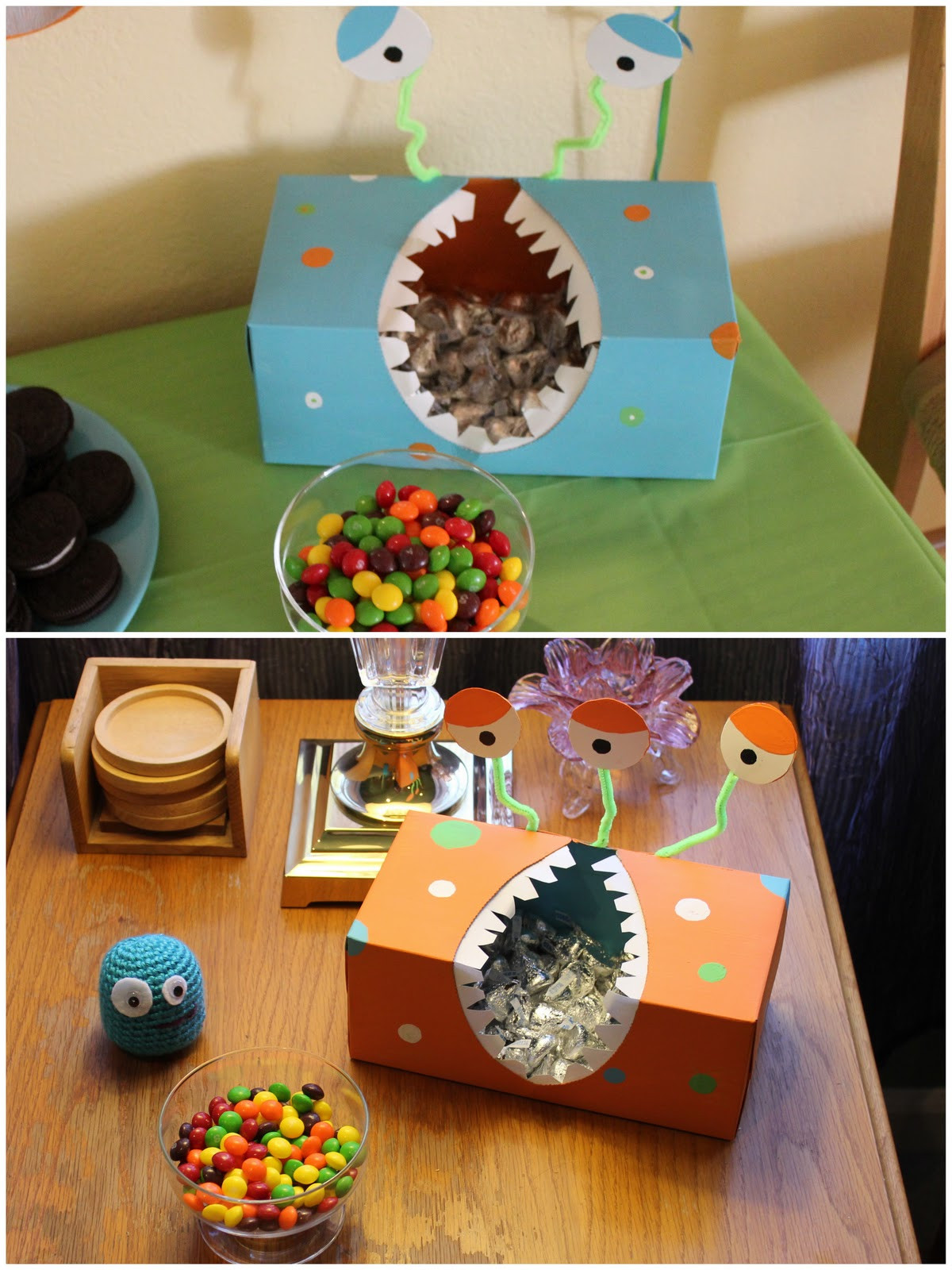Monster Birthday Decorations  Then You Be e A Mom DIY Monster Birthday Party