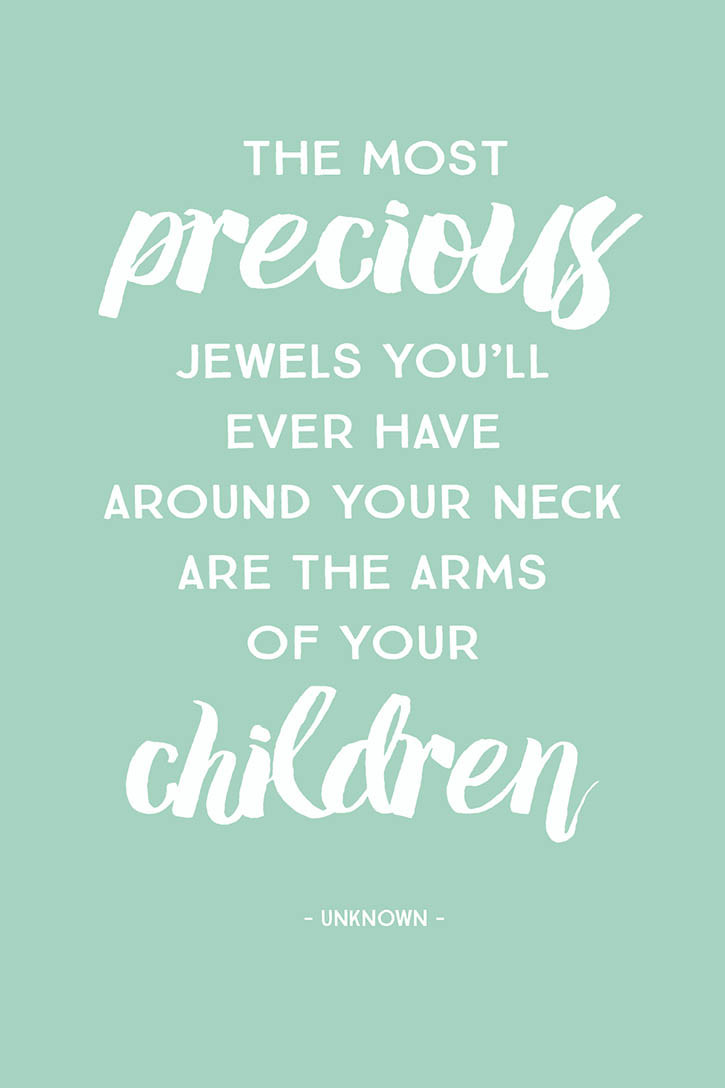 Mother And Childrens Quotes  5 Inspirational Quotes for Mother s Day